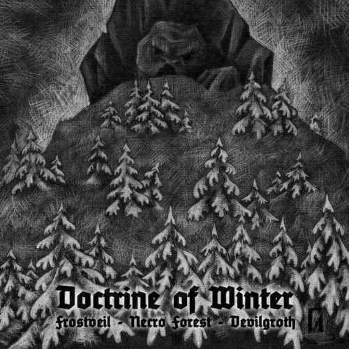 NECRO FOREST - Doctrine of Winter cover