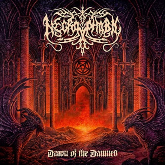 NECROPHOBIC - Dawn of the Damned cover