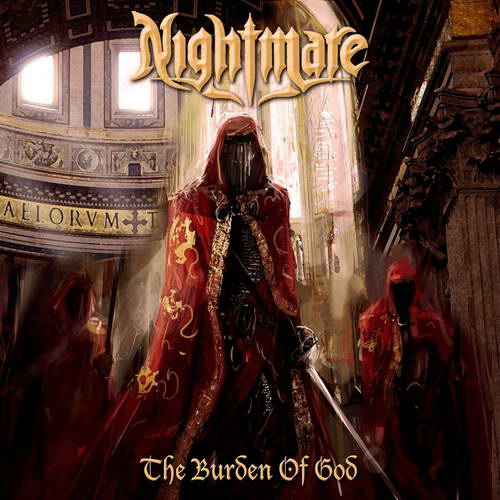 NIGHTMARE - The Burden of God cover