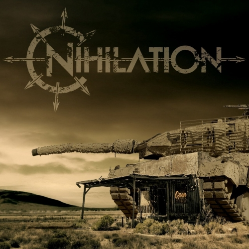 NIHILATION - A Misanthrope's Guide to the Planet cover