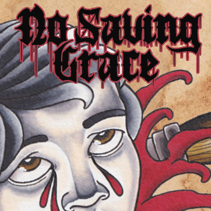 NO SAVING GRACE - Demo 2014 cover