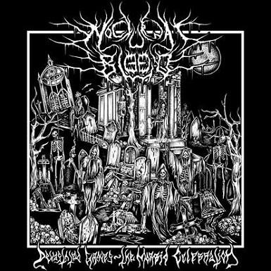 NOCTURNAL BLOOD - Devastated Graves - The Morbid Celebration cover