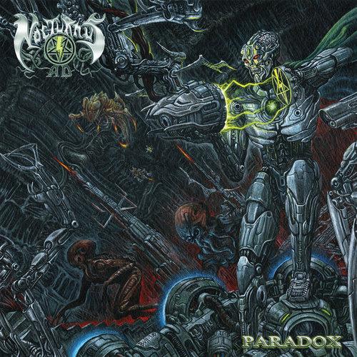 NOCTURNUS AD - Paradox cover