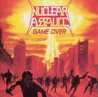 NUCLEAR ASSAULT - Game Over cover