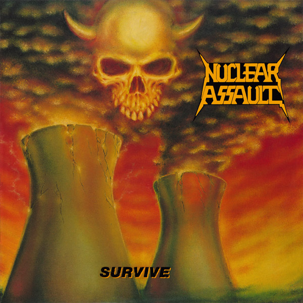 NUCLEAR ASSAULT - Survive cover