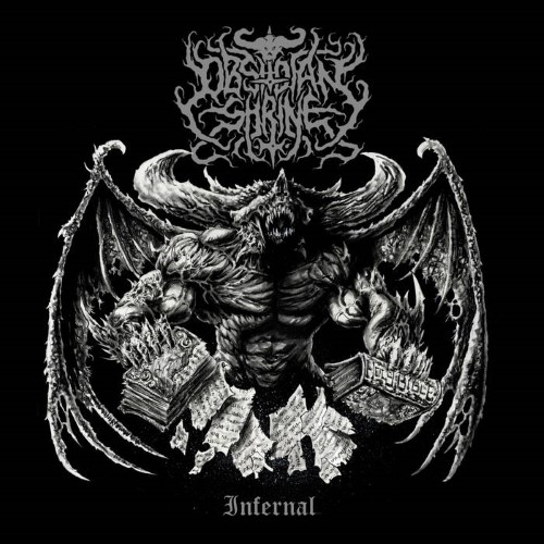 OBSIDIAN SHRINE - Infernal cover