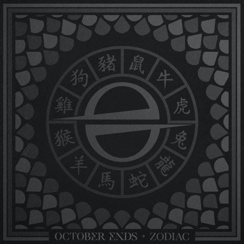 OCTOBER ENDS - Zodiac cover