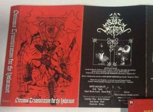 ODIUM ENTHRONEMENT - Ominous Triumviratum for the Holocaust cover
