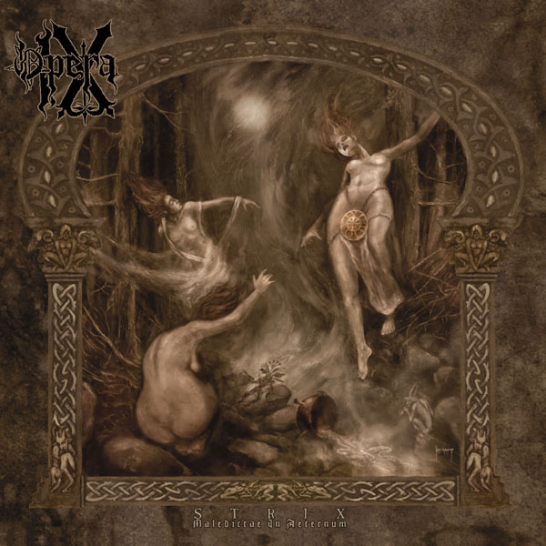 OPERA IX - Strix Maledictae in Aeternum cover