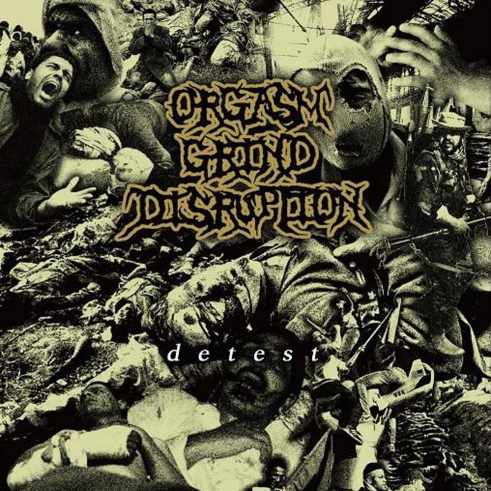 ORGASM GRIND DISRUPTION - Detest cover