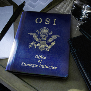 OSI - Office Of Strategic Influence cover