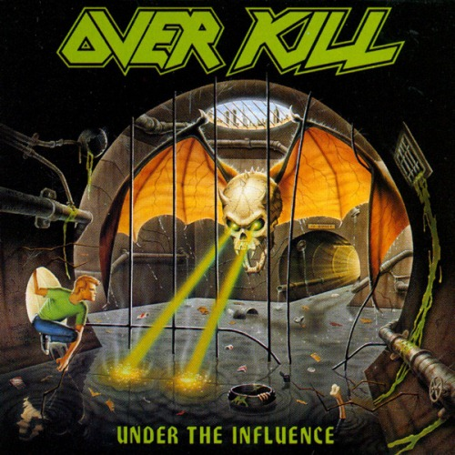 OVERKILL - Under The Influence cover