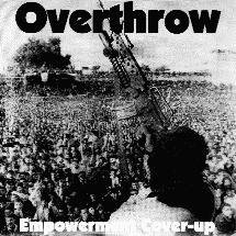 OVERTHROW - Empowerment Cover Up cover