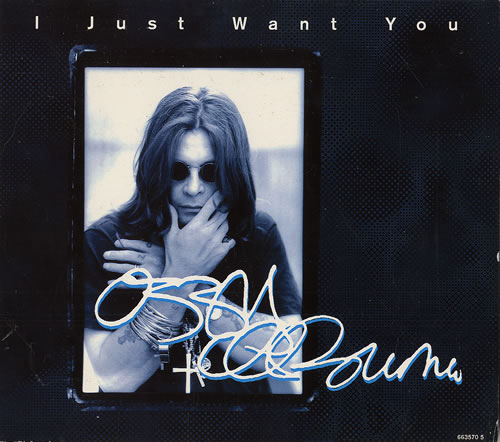 OZZY OSBOURNE - I Just Want You cover