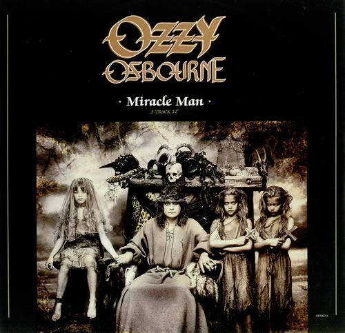 OZZY OSBOURNE - Miracle Man cover