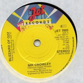 OZZY OSBOURNE - Mr. Crowley cover