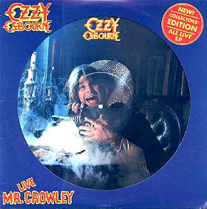 OZZY OSBOURNE - Mr. Crowley Live cover
