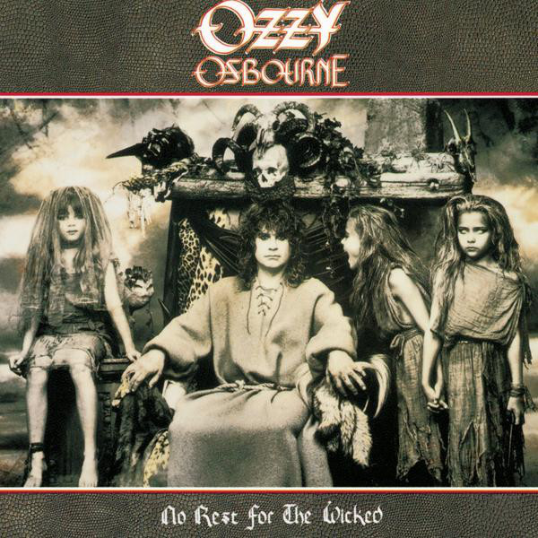 OZZY OSBOURNE - No Rest For The Wicked cover