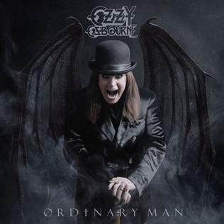OZZY OSBOURNE - Ordinary Man cover