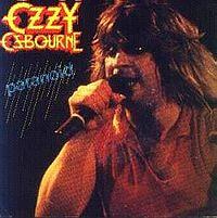 OZZY OSBOURNE - Paranoid cover