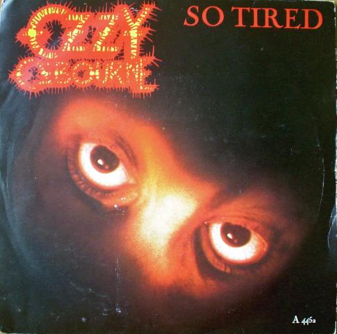 OZZY OSBOURNE - So Tired cover