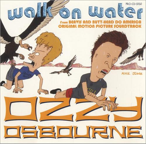 OZZY OSBOURNE - Walk On Water cover