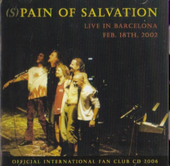PAIN OF SALVATION - Fan Club CD 2006 cover