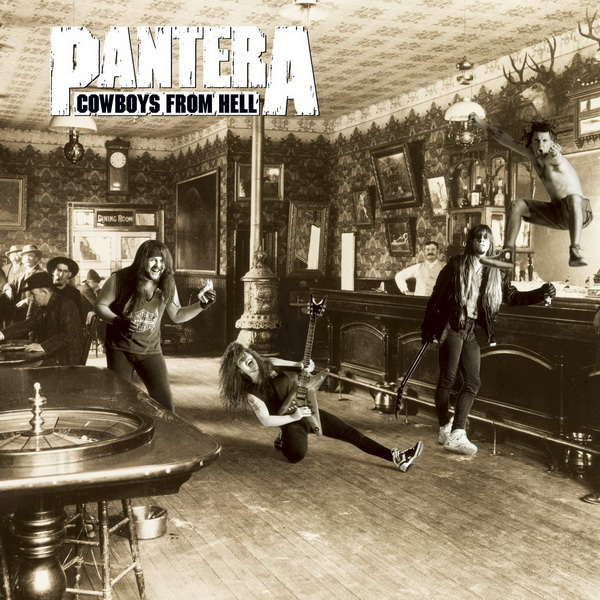PANTERA - Cowboys From Hell cover