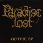 PARADISE LOST - Gothic EP cover