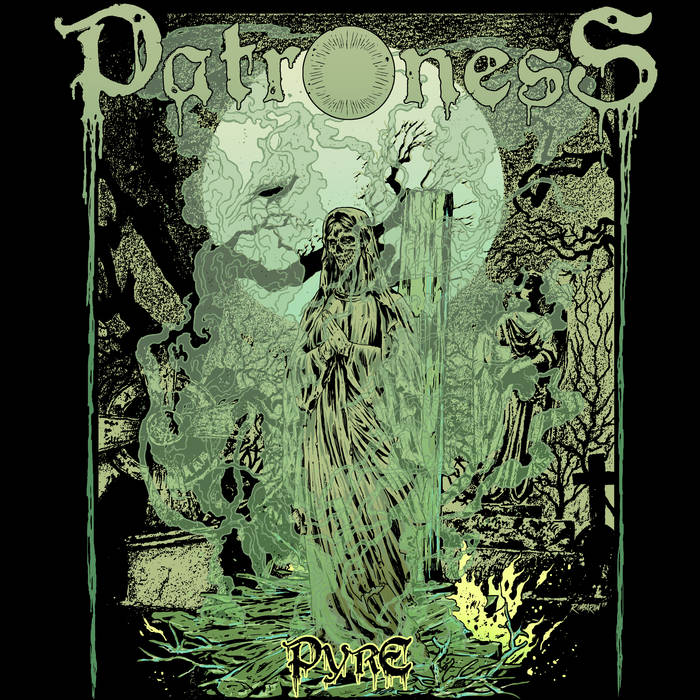 PATRONESS - Pyre cover