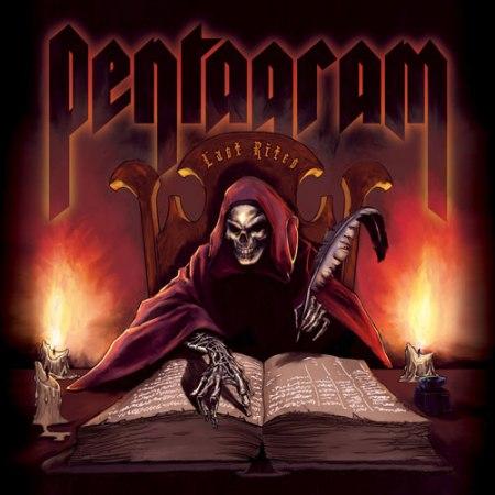 PENTAGRAM - Last Rites cover