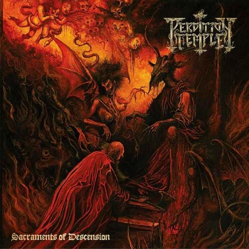 PERDITION TEMPLE - Sacraments Of Descension cover
