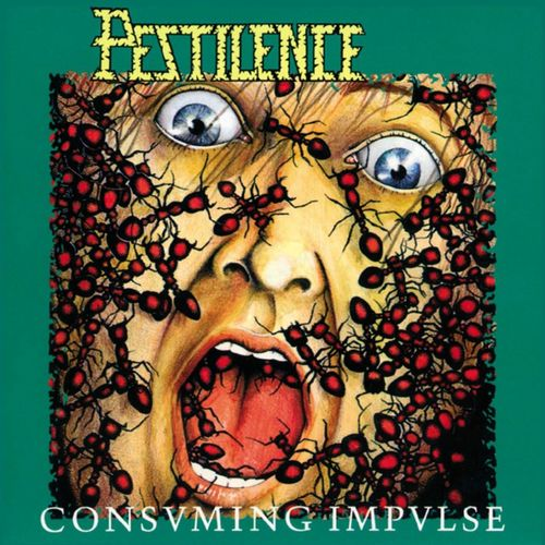 PESTILENCE - Consuming Impulse cover