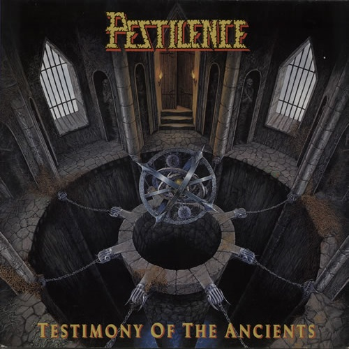PESTILENCE - Testimony of the Ancients cover