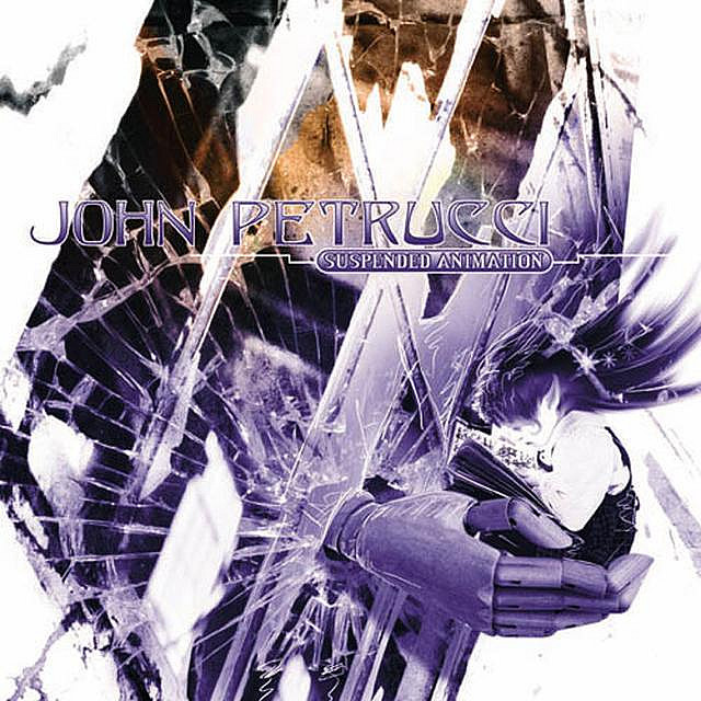 JOHN PETRUCCI - Suspended Animation cover