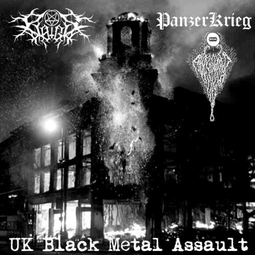 PLAGIS - UK Black Metal Assault cover