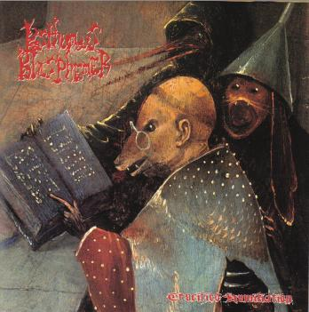 POSTHUMOUS BLASPHEMER - Crucified Humiliation cover