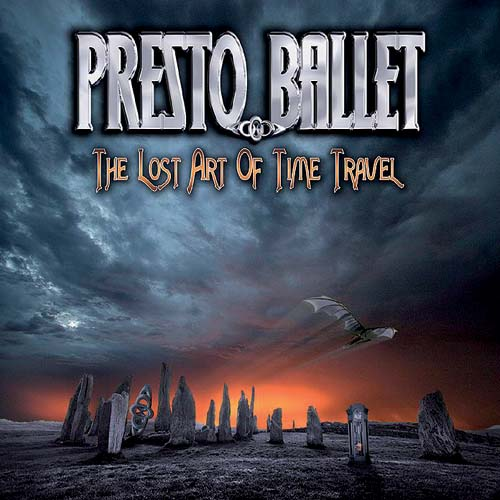 PRESTO BALLET - The Lost Art of Time Travel cover