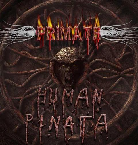 PRIMATE - Human Pinata cover 