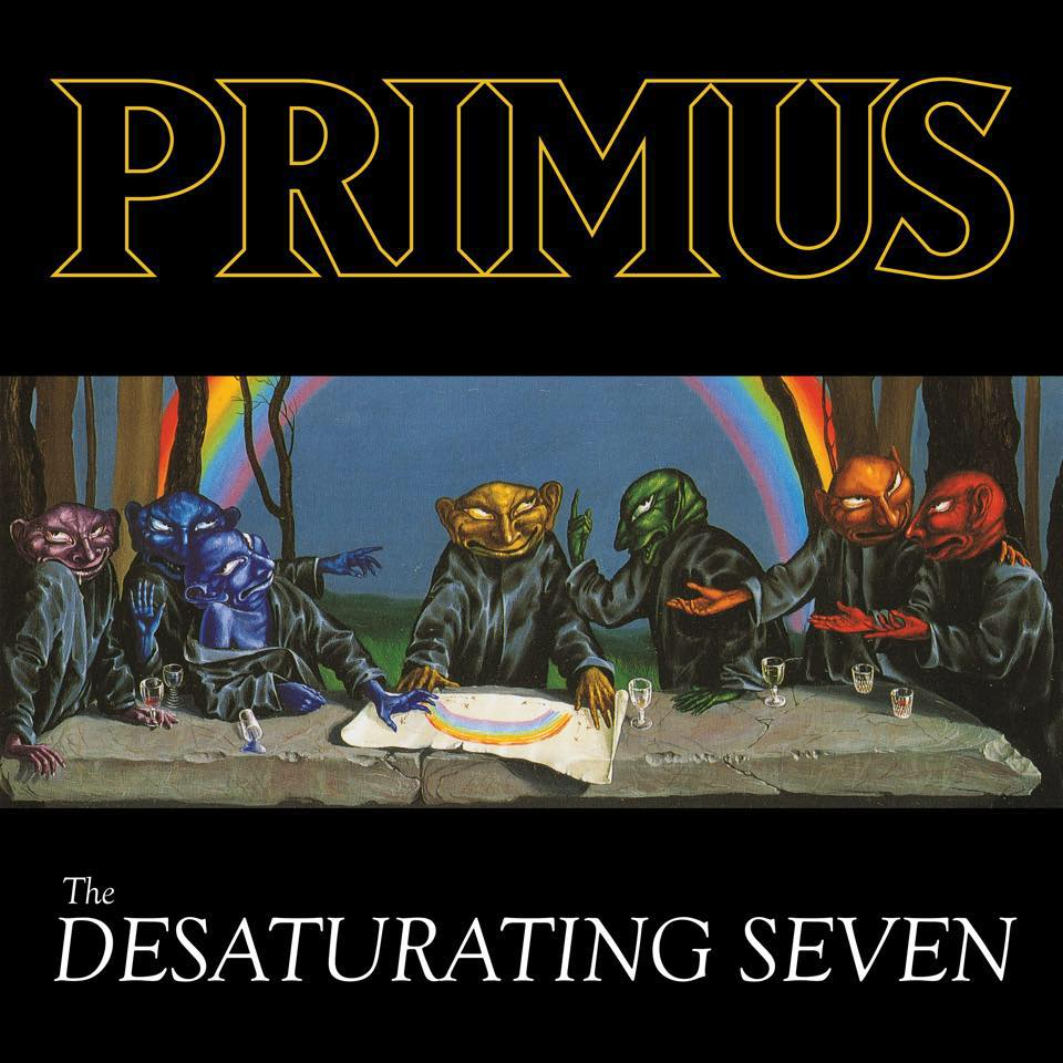 PRIMUS - The Desaturating Seven cover