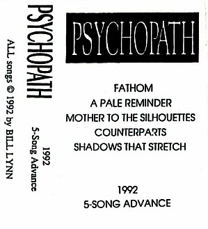 PSYCHOPATH - 5-Song Advance cover