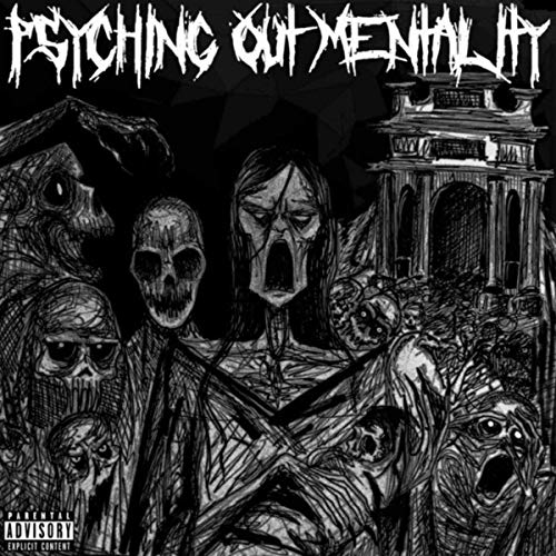 PSYCHOTIC OUTSIDER - Psyching Out Mentality cover