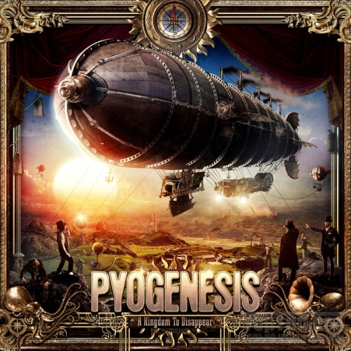 PYOGENESIS - A Kingdom to Disappear cover
