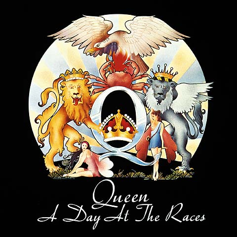 QUEEN - A Day At The Races cover