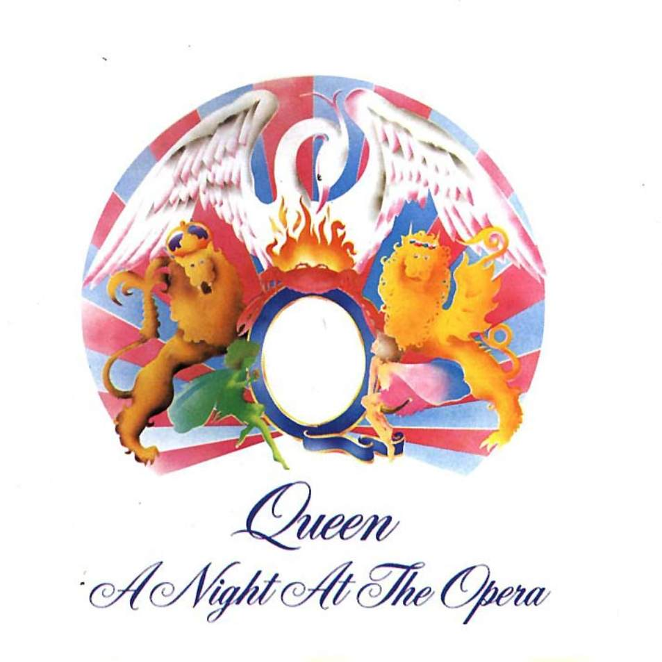 QUEEN - A Night At The Opera cover