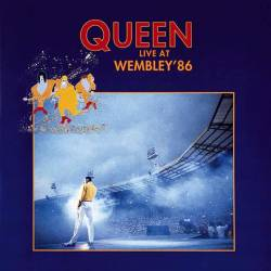 QUEEN - Live At Wembley '86 cover