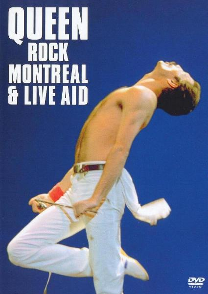 QUEEN - Queen Rock Montreal & Live Aid cover