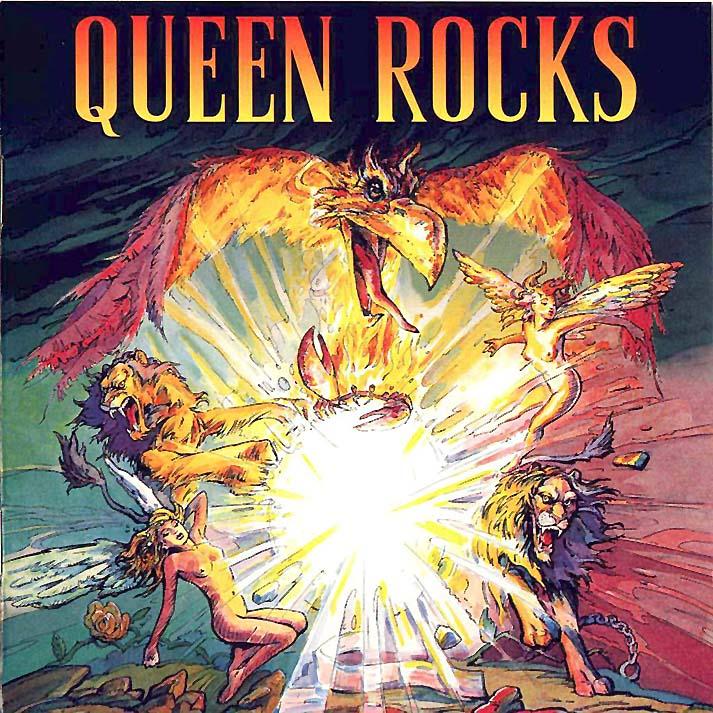 QUEEN - Queen Rocks cover