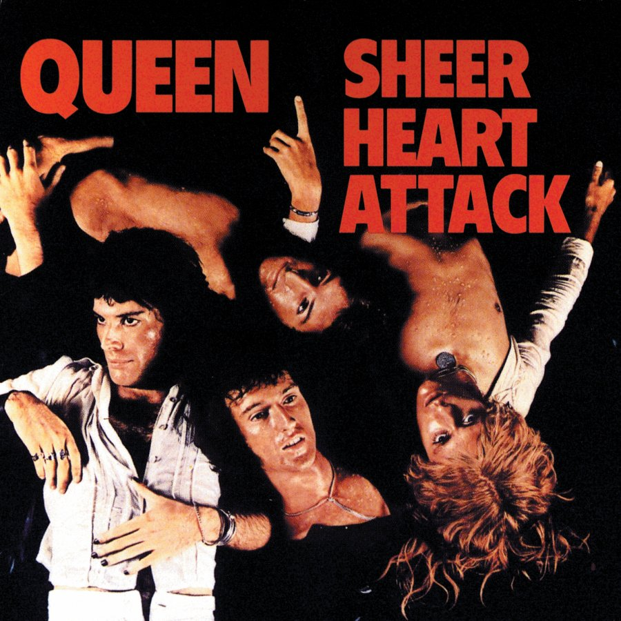 QUEEN - Sheer Heart Attack cover