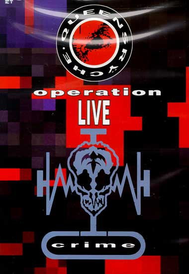 QUEENSRŸCHE - Operation: LIVEcrime cover